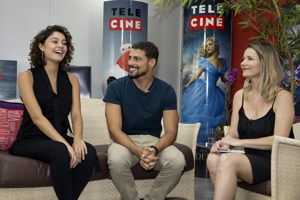 Sophie Charlotte e Cauã Reymond são os convidados de Renata Boldrini no Preview