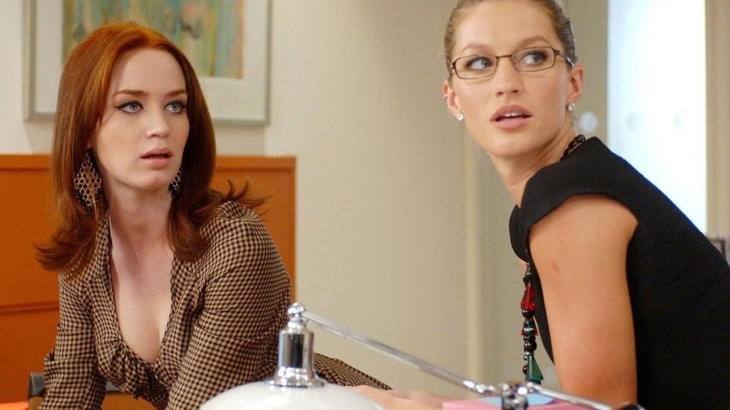 Emily Blunt e Gisele Bündchen: ótimas tiradas , piadas internas e algum sarcarsmo