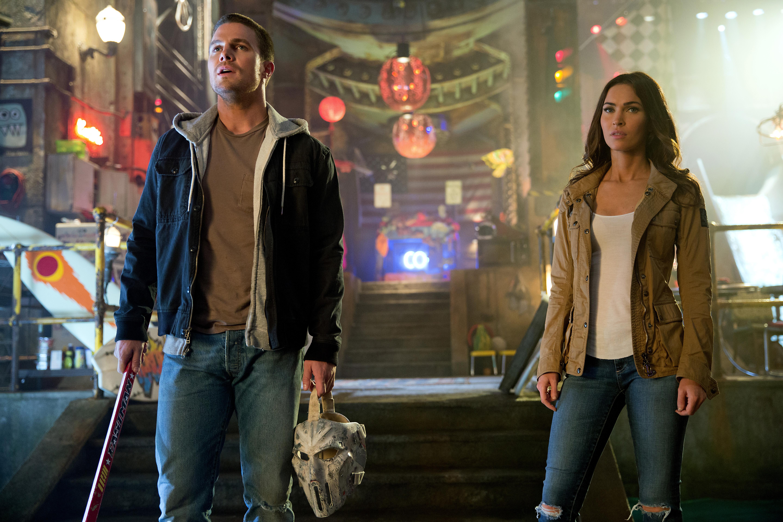 """Megan Fox em cena de """"As Tartarugas Ninja: Fora das Sombras"""", em estreia no Brasil: bilheterias decepcionantes (Foto: divulgação)"""