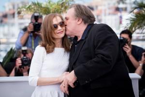 Os atores lançando o filme em Cannes em 2015 (Foto: divulgação/Cannes)
