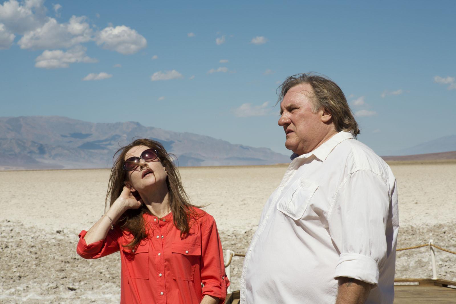 """Gérard Depardieu e Isabelle Huppert em cena de """"O Vale do Amor"""" (Foto: divulgação)"""