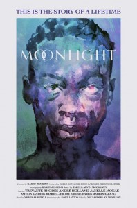 "Cartaz do filme ""Moonlight"""