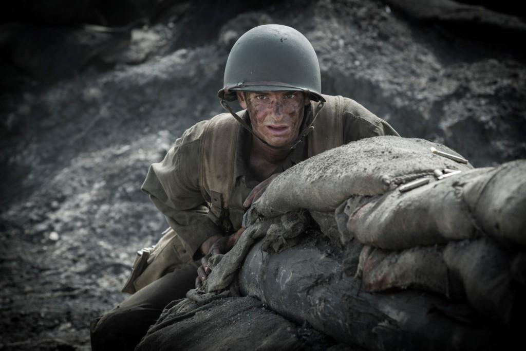 Andrew Garfield, indicado ao Oscar de melhor ator pelo filme Até o Último Homem