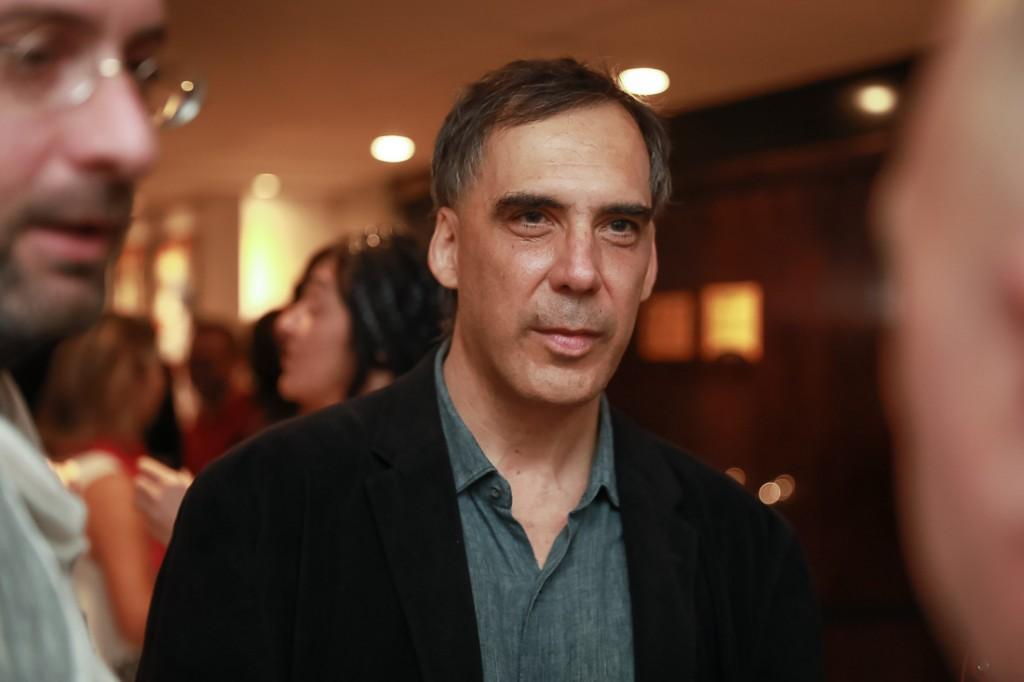 """O cantor Arnaldo Antunes também foi prestigiar o lançamento de """"Joaquim"""" (Fotos: Imovision)"""