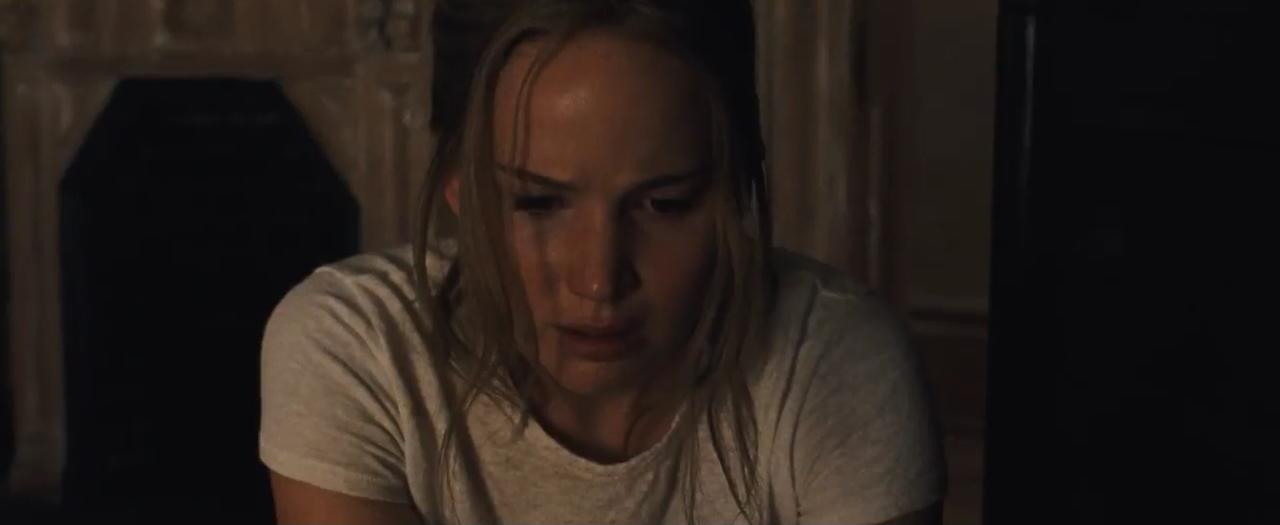 "Jennifer Lawrence em cena de ""Mãe!"""