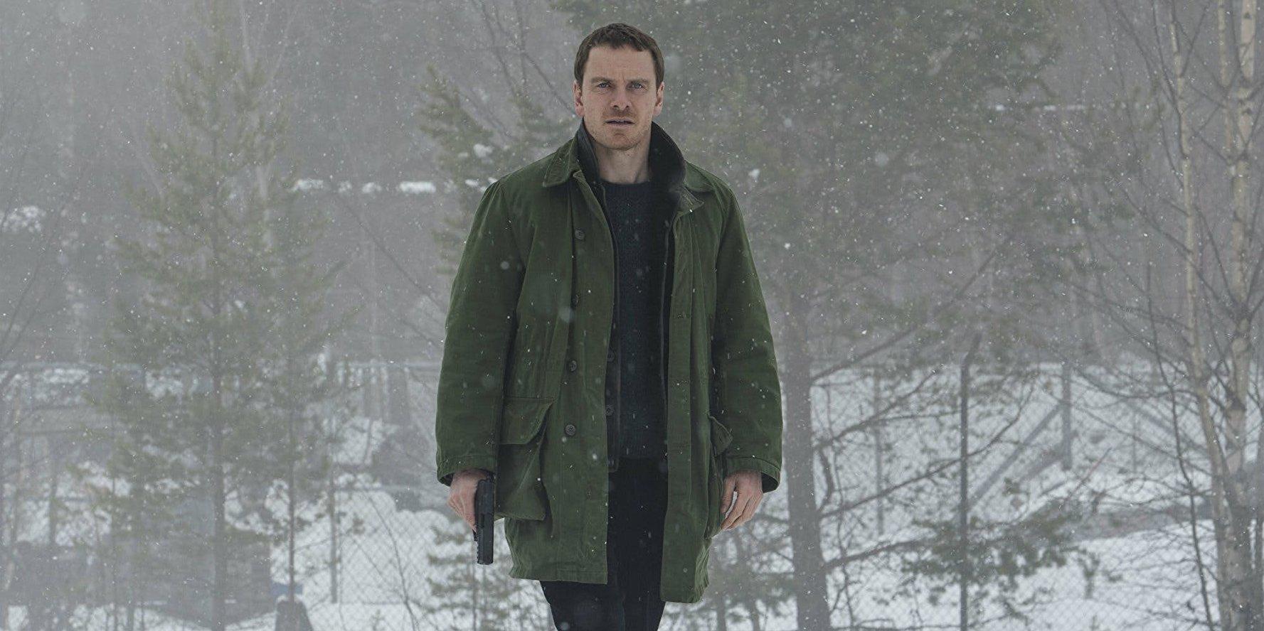 """Michael Fassbender em cena da estreia """"Boneco de Neve"""""""
