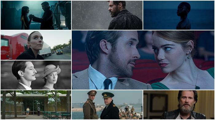 """""""La La Land"""", Logan"""", """"Blade Runner 2049"""", """"Moonlight"""", """"Dunkirk"""", De """"Canção em Canção"""", """"Frantz"""", Columbus"""" e """"Jim & Andy"""" são alguns dos melhores filmes do ano"""
