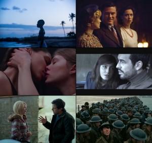 """Cenas de """"Moonlight"""", """"Professor Marston e as Mulheres-Maravilhas"""", """"Thelma"""", """"Um Contratempo"""", """"Manchester à Beira-Mar"""" e """"Dunkirk"""""""