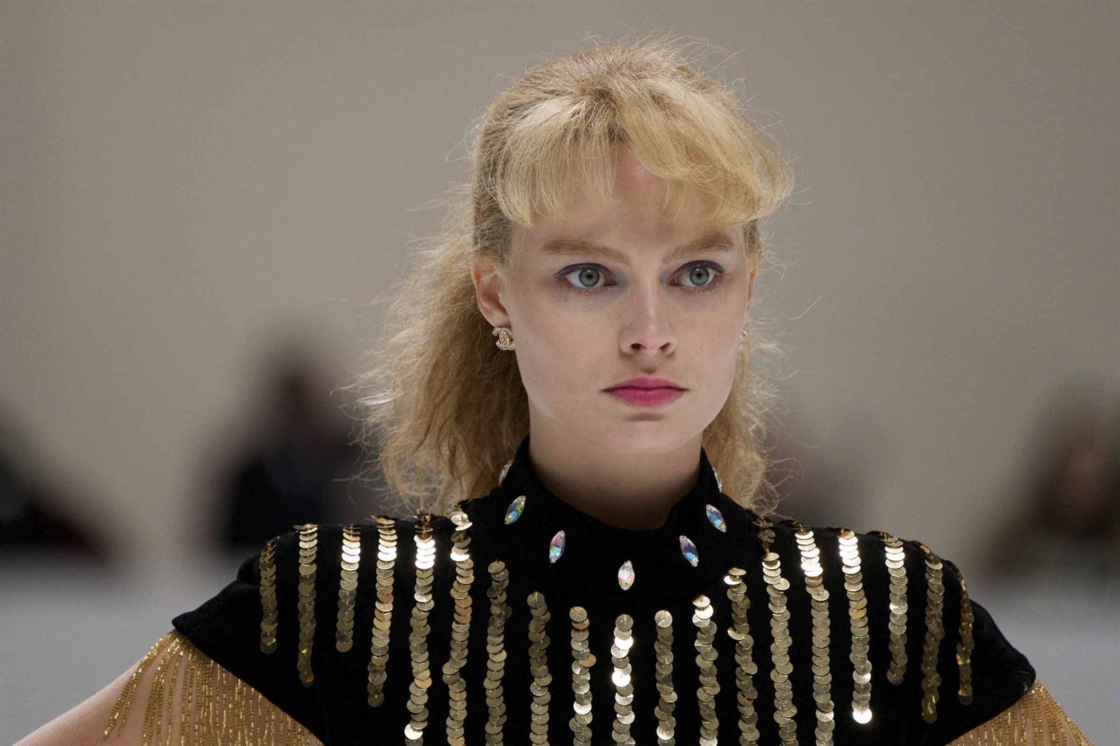 """Margot Robbie em cena de """"Eu, Tonya"""""""