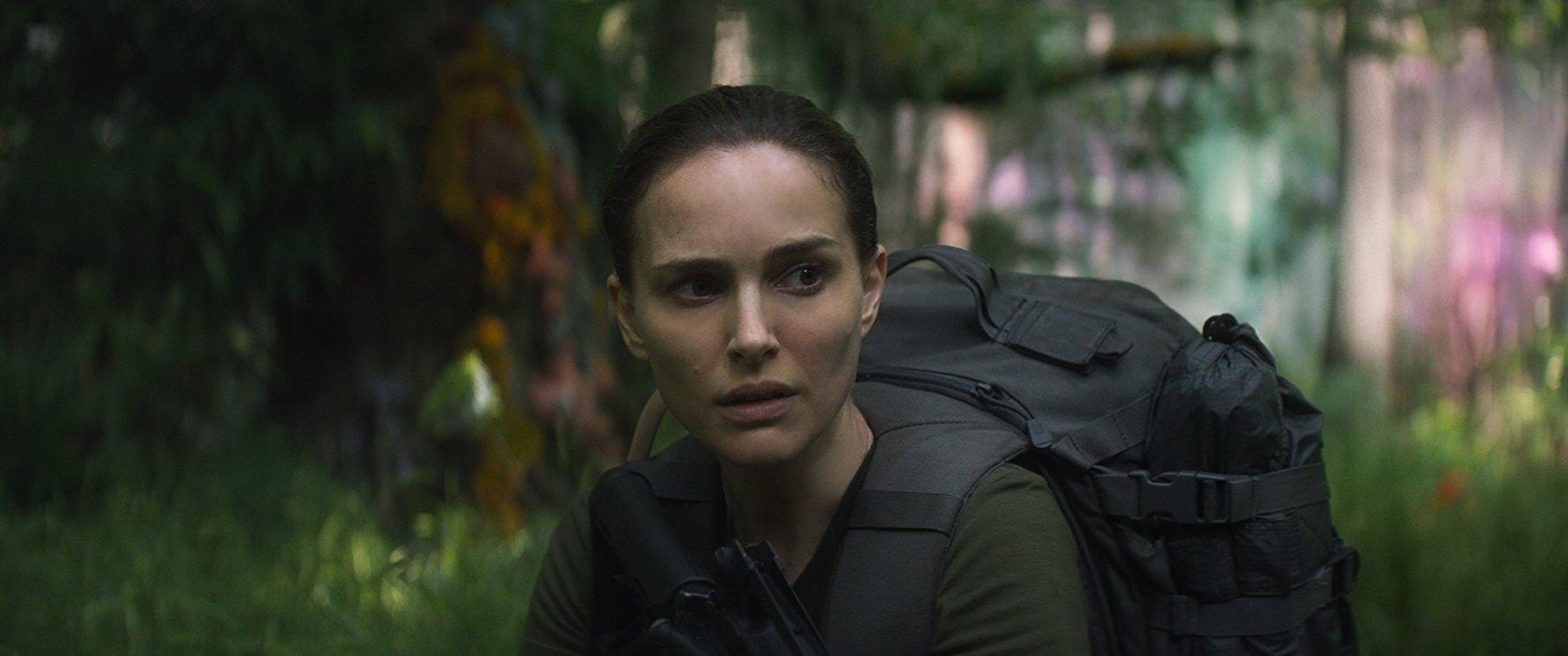 """Natalie Portman em cena de """"Aniquilação"""" Fotos: divulgação/reprodução"""