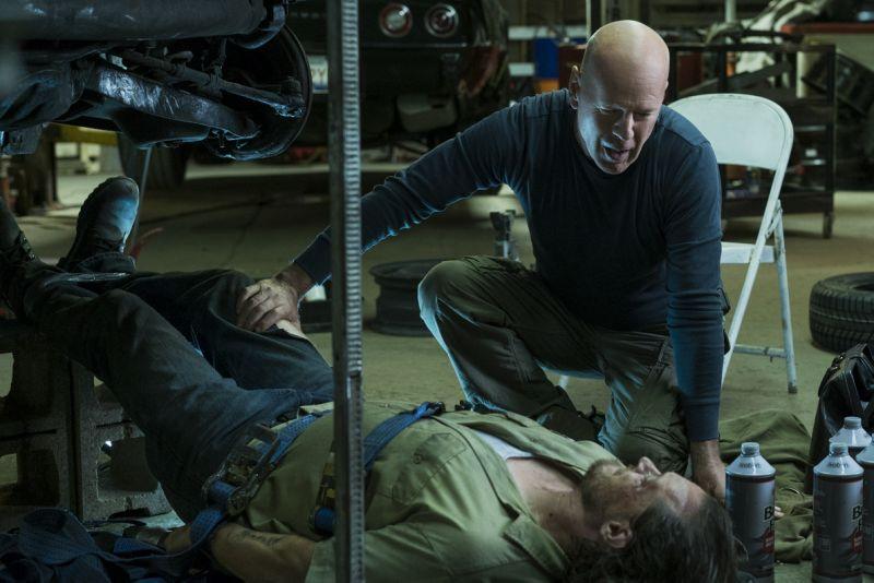 "Bruce Willis em cena de ""Desejo de Matar"""