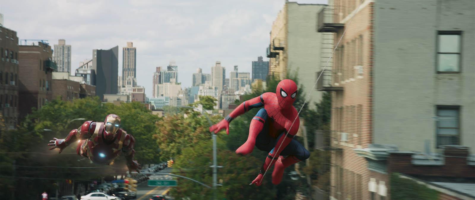 """Cena de """"Homem-Aranha: De Volta ao Lar"""""""