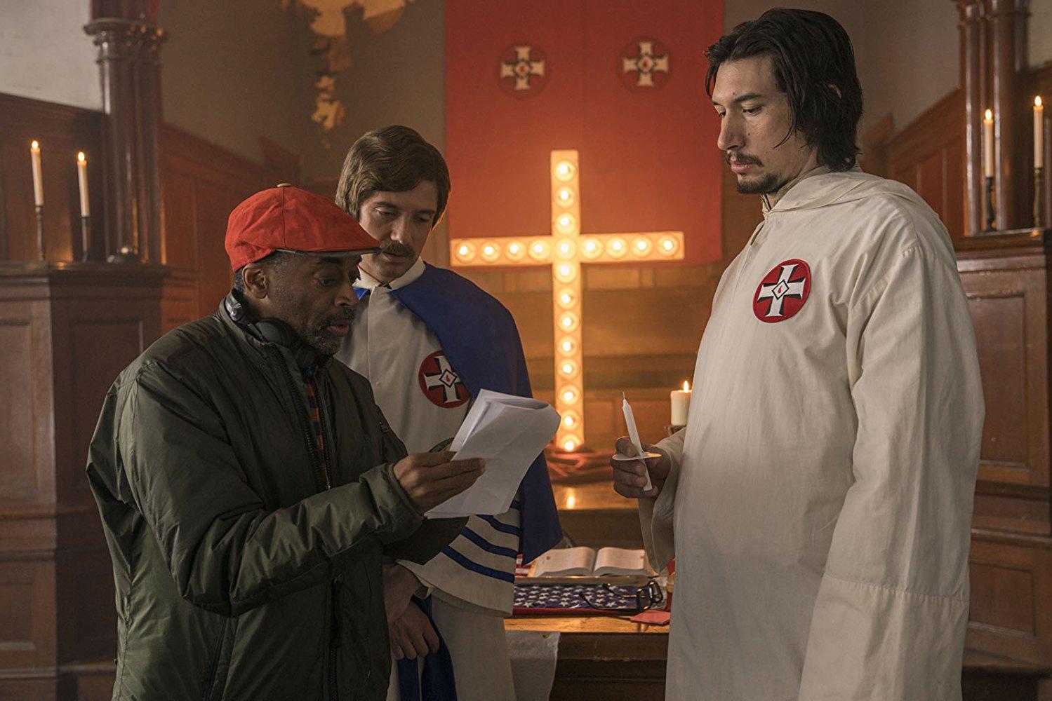"""Spike Lee orienta seus atores nos bastidores de """"Infiltrado na Klan"""""""