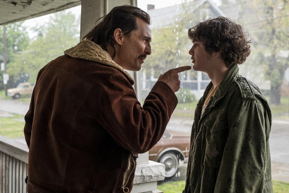 """Matthew McConaughey em cena de """"White Boy Rick"""""""