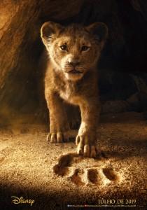 """Pôster teaser de """"O Rei Leão"""""""
