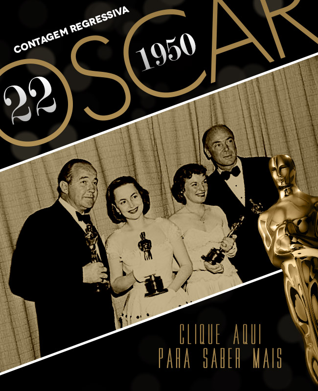 OSCAR 2014 CONTAGEM REGRESSIVA OSCAR 1950 ACADEMY AWARDS
