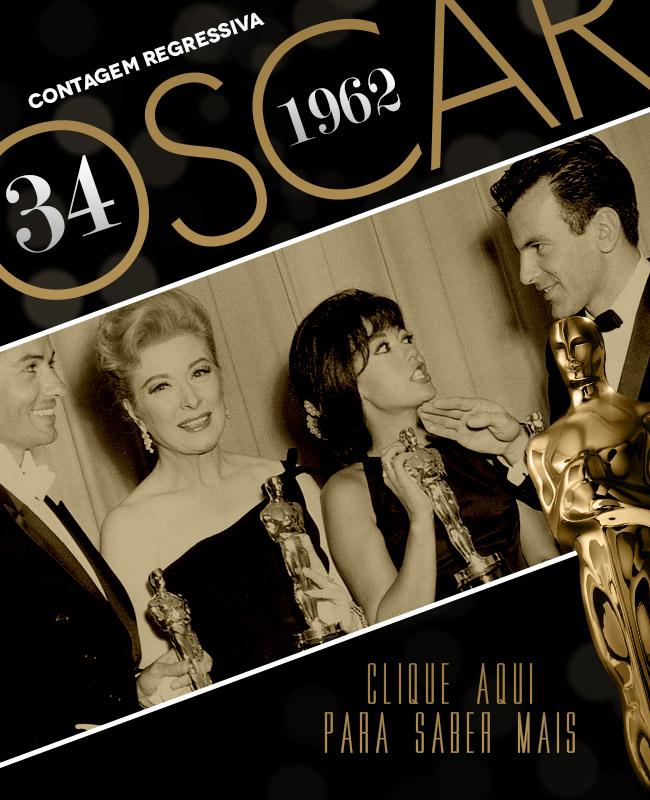 OSCAR 2014 CONTAGEM REGRESSIVA OSCAR 1962 ACADEMY AWARDS