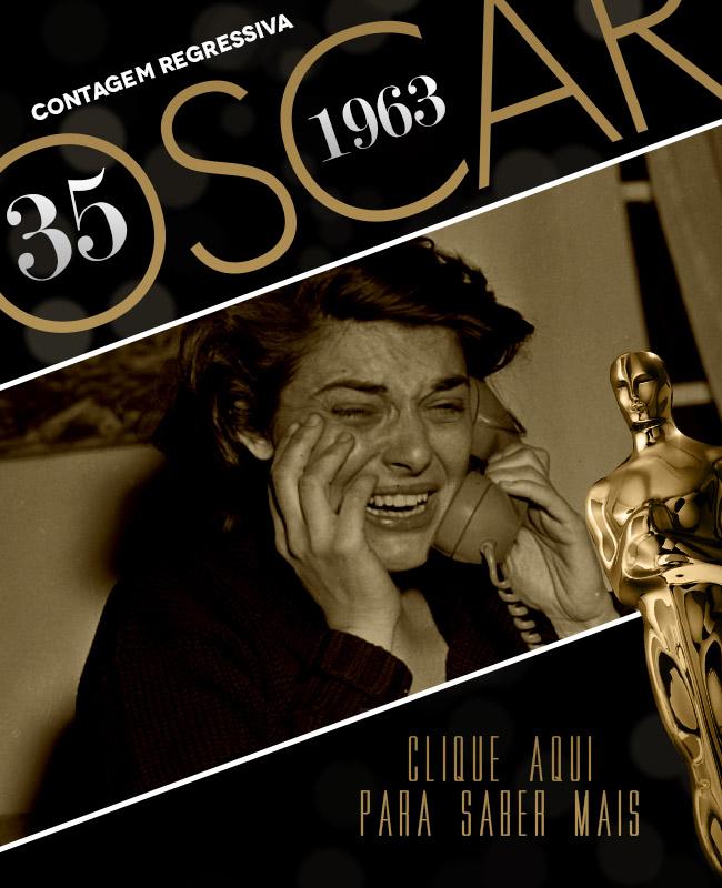OSCAR 2014 CONTAGEM REGRESSIVA OSCAR 1963 ACADEMY AWARDS