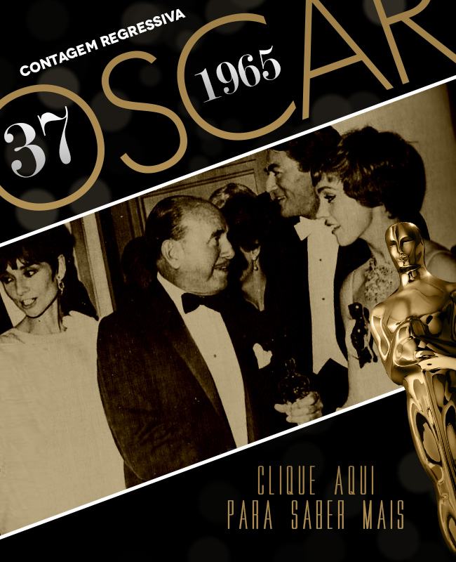 OSCAR 2014 CONTAGEM REGRESSIVA OSCAR 1965 ACADEMY AWARDS