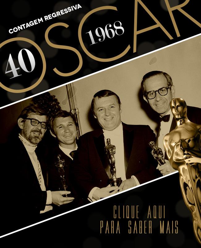 OSCAR 2014 CONTAGEM REGRESSIVA OSCAR 1968 ACADEMY AWARDS