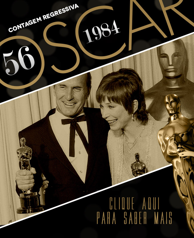 OSCAR 2014 CONTAGEM REGRESSIVA OSCAR 1984 ACADEMY AWARDS