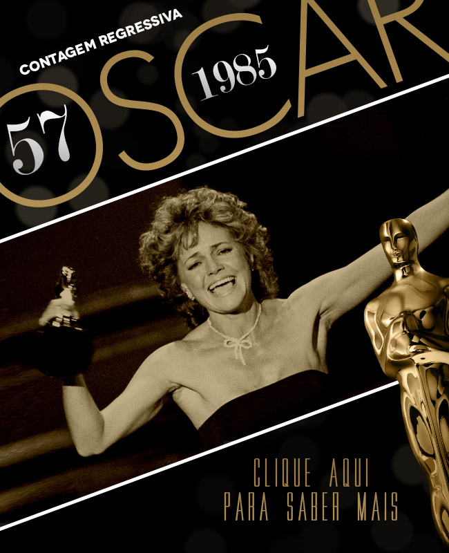 OSCAR 2014 CONTAGEM REGRESSIVA OSCAR 1985 ACADEMY AWARDS
