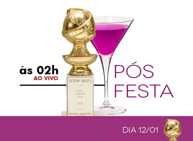 PÓS FESTA - GLOBO DE OURO 2014 - AO VIVO