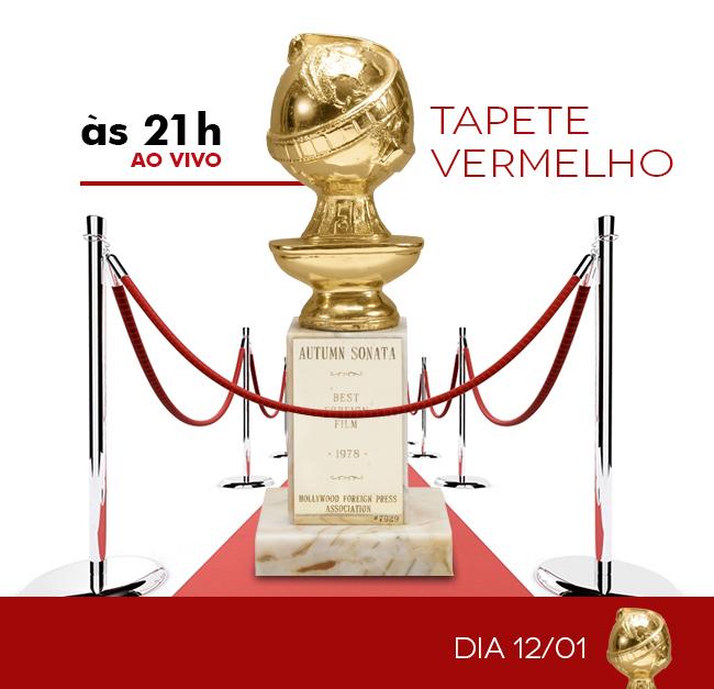 TAPETE VERMELHO - GLOBO DE OURO 2014 - AO VIVO