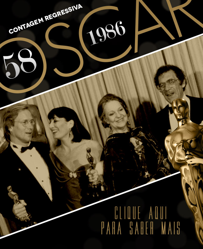 OSCAR 2014 CONTAGEM REGRESSIVA OSCAR 1986 ACADEMY AWARDS