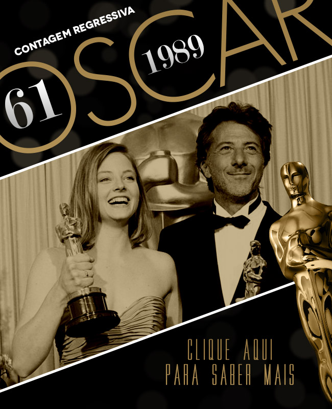 OSCAR 2014 CONTAGEM REGRESSIVA OSCAR 1989 ACADEMY AWARDS
