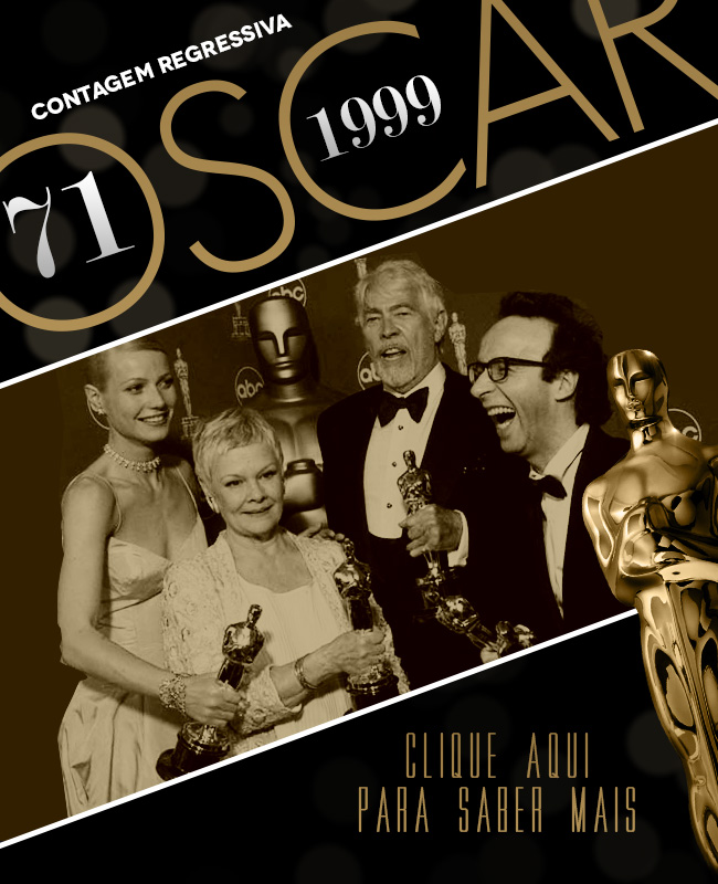 OSCAR 2014 CONTAGEM REGRESSIVA OSCAR 1999 ACADEMY AWARDS