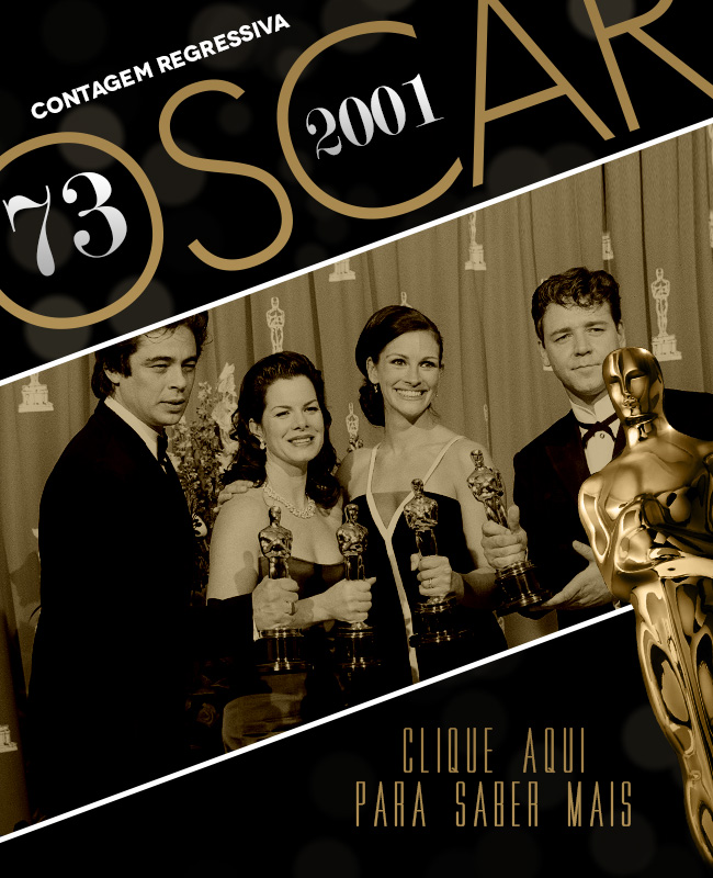 OSCAR 2014 CONTAGEM REGRESSIVA OSCAR 2001 ACADEMY AWARDS