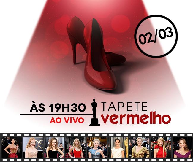 TAPETE VERMELHO - OSCAR 2014 - AO VIVO - COBERTURA COMPLETA