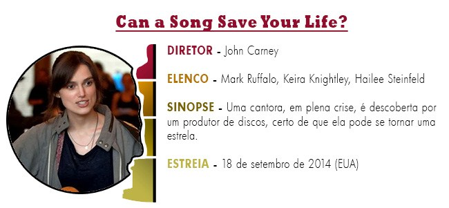OSCAR 2015 Can a Song Save Your Life BEST PICTURE ACADEMY AWARDS 2015