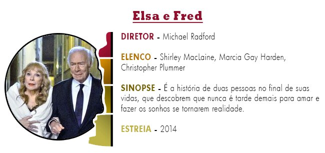 OSCAR 2015 Elsa e Fred BEST PICTURE ACADEMY AWARDS 2015