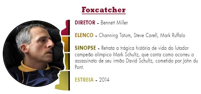 OSCAR 2015 Foxcatcher BEST PICTURE ACADEMY AWARDS 2015