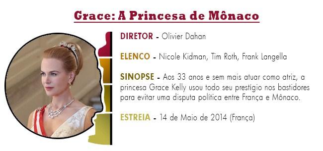 OSCAR 2015 Grace - A Princesa de Mônaco BEST PICTURE ACADEMY AWARDS 2015