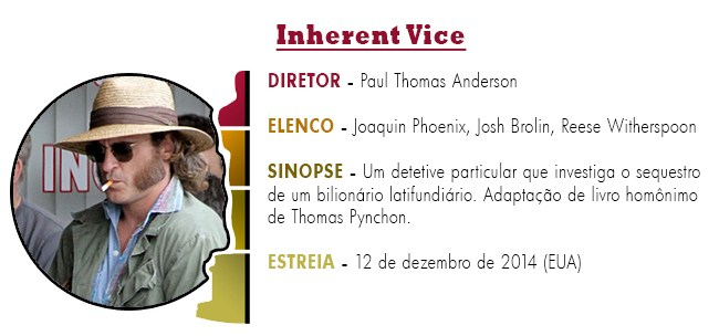 OSCAR 2015 Inherent Vice BEST PICTURE ACADEMY AWARDS 2015
