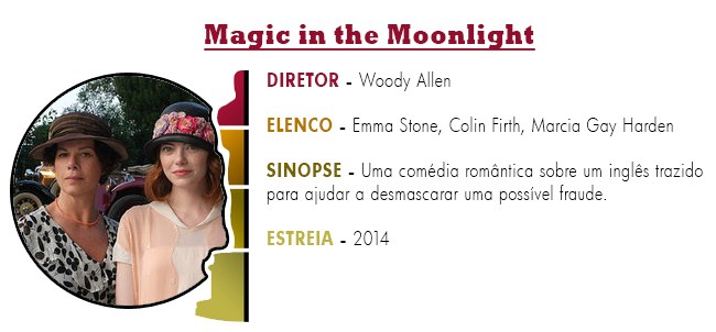 OSCAR 2015 Magic in the Moonlight BEST PICTURE ACADEMY AWARDS 2015