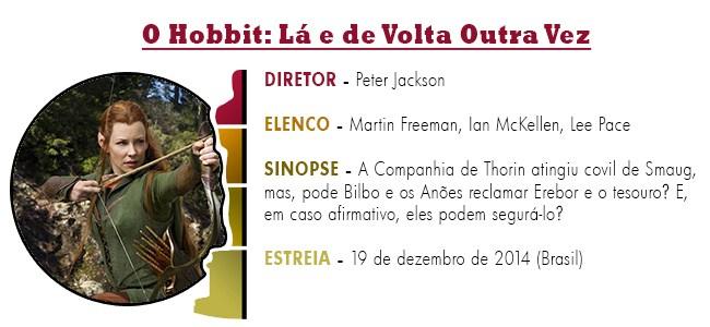 OSCAR 2015 O Hobbit - Lá e de Volta Outra Vez BEST PICTURE ACADEMY AWARDS 2015