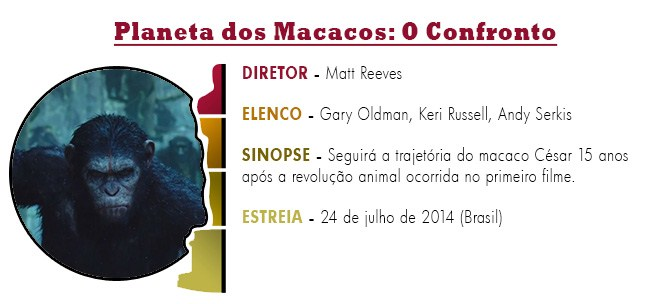 OSCAR 2015 Planeta dos Macacos - O Confronto BEST PICTURE ACADEMY AWARDS 2015