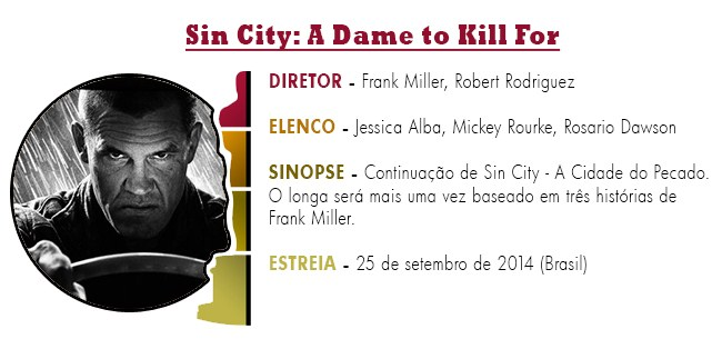 OSCAR 2015 Sin City - A Dame to Kill For BEST PICTURE ACADEMY AWARDS 2015