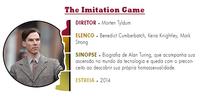 OSCAR 2015 The Imitation Game BEST PICTURE ACADEMY AWARDS 2015