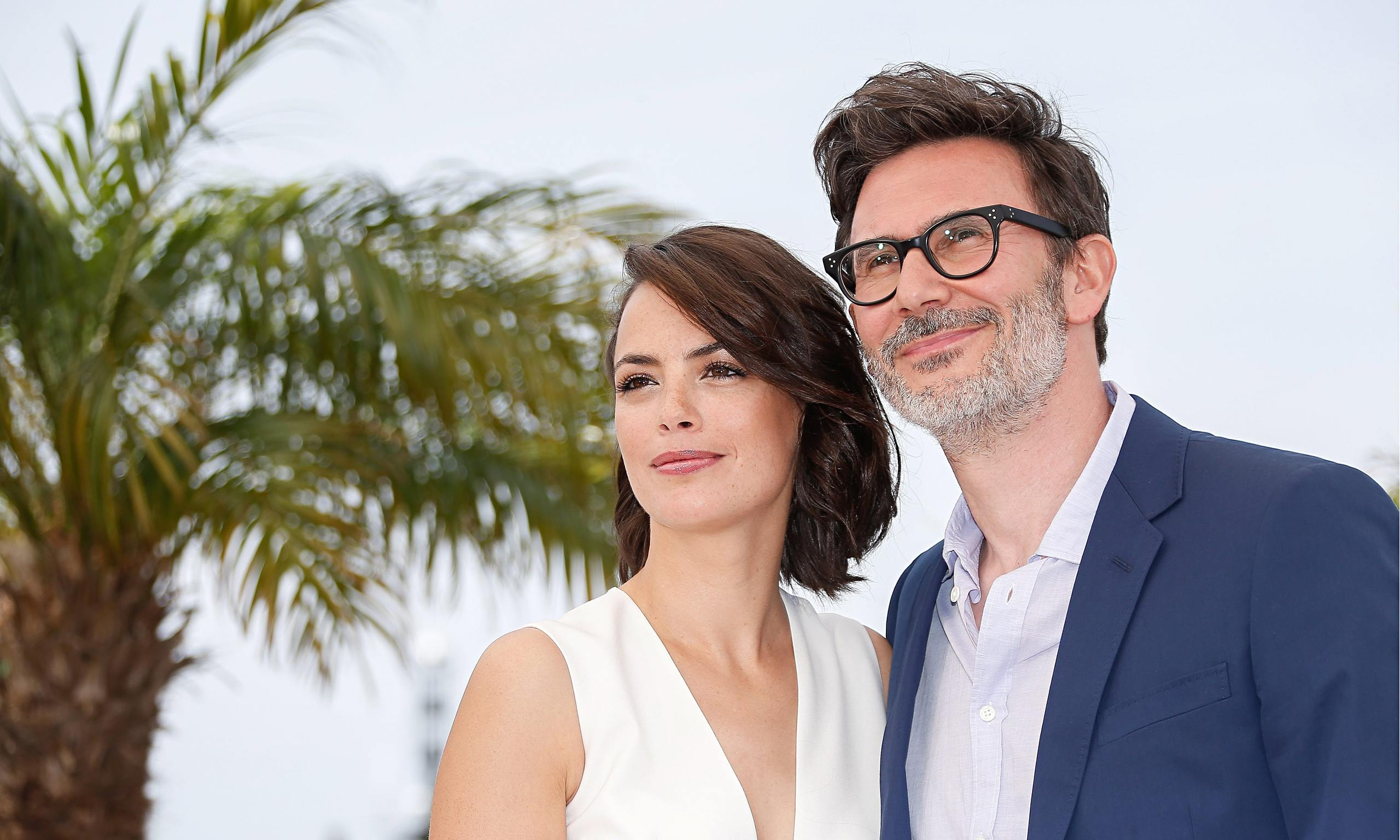 Michel Hazanavicius and Bérénice Bejo during the photocall for The Search at the 67th Cannes film