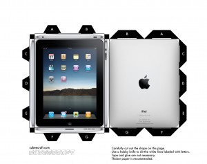 CUbeecraft_iPad_by_cubeecraft