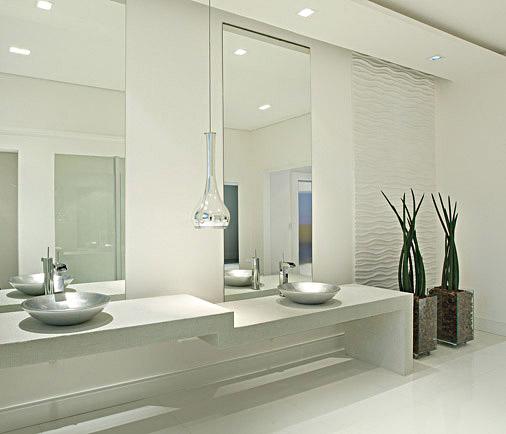 iG Colunistas – Dicas da Arquiteta  blog da arquiteta Mariana Cechinni com d -> Banheiros Modernos Atuais