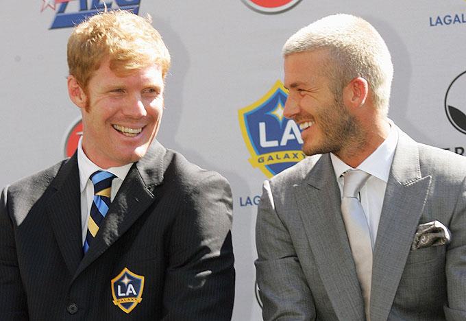 Lalas e Beckham