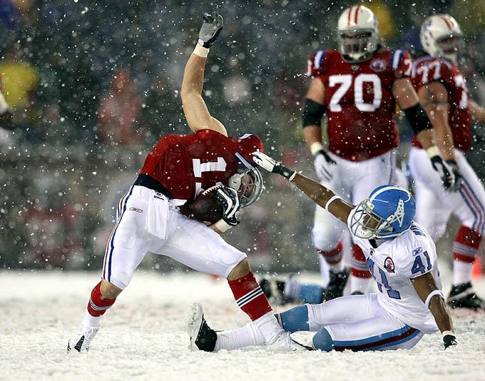 Tennessee Titans 0 x 59 New England Patriots: a surra da rodada