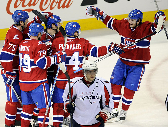 Capitals Canadiens Hockey