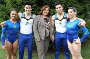 Seleção brasileira de ginástica artística fechou contrato de patrocício com a Adidas
